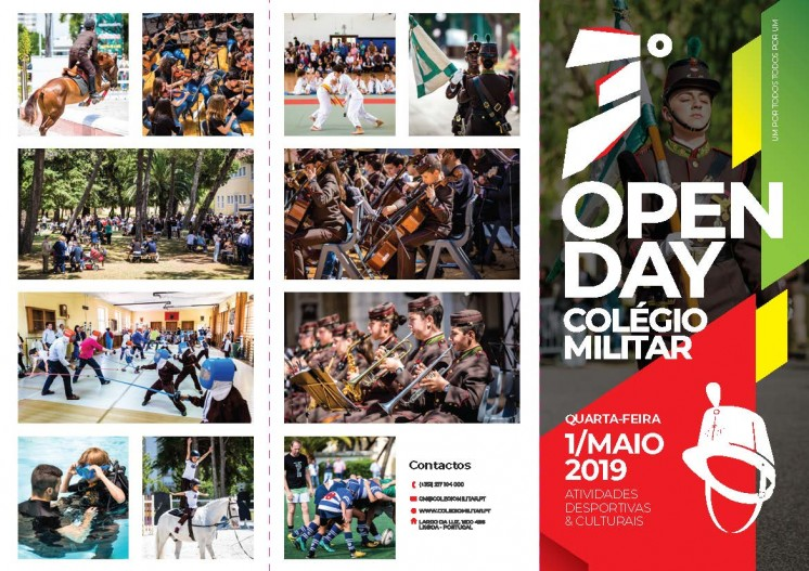 Open Day - dia 1 Maio 2019